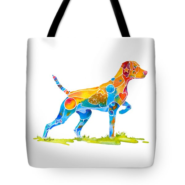 Vizsla On Point Tote Bag