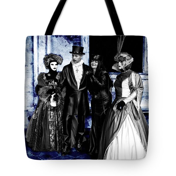Vlad And Family Tote Bag by John Rizzuto