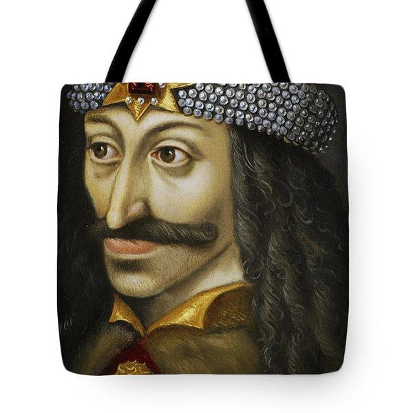 Vlad The Impaler Tote Bag