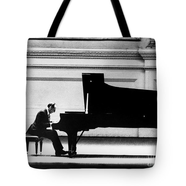 Tote Bag featuring the photograph Vladimir Horowitz by Granger
