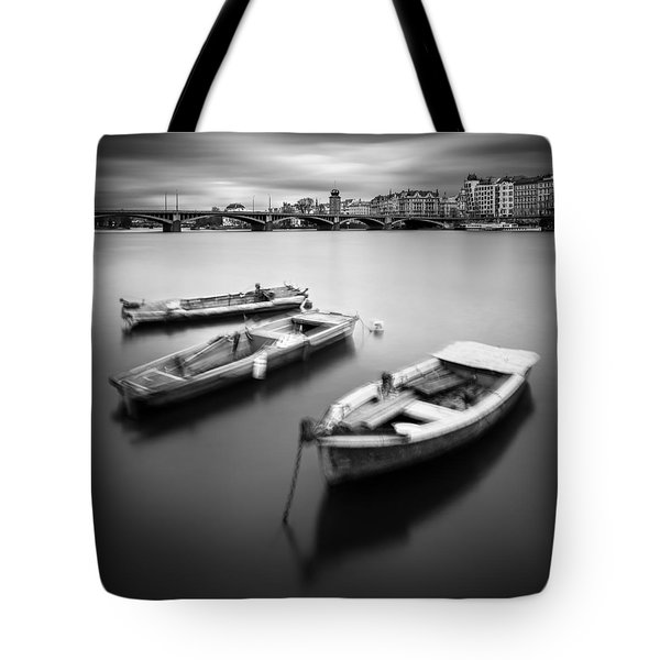 Vltava River During Autumn Time, Prague, Czech Republic Tote Bag