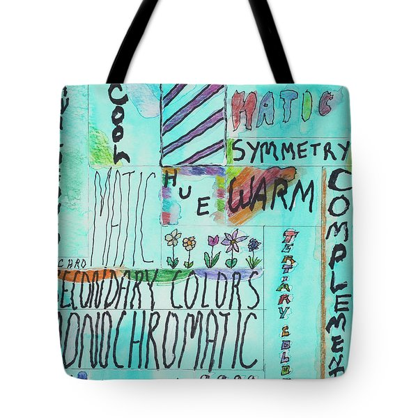 Vocabulary Tote Bag