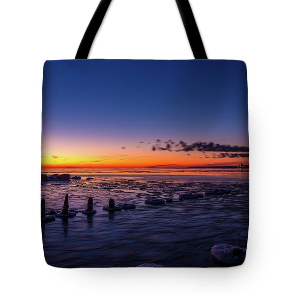 Voilet Morning Tote Bag