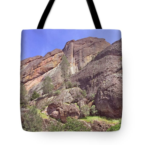 Tote Bag featuring the photograph Volcanic Colors by Art Block Collections