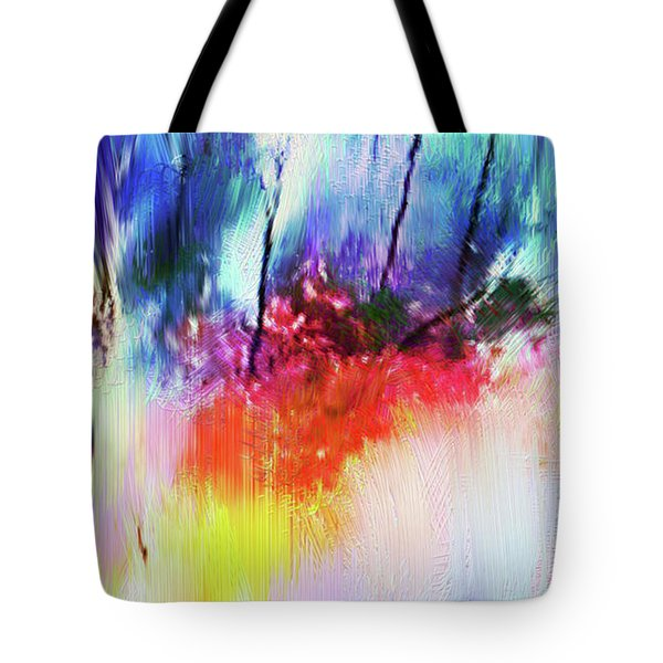 Volcanic Fissures Tote Bag