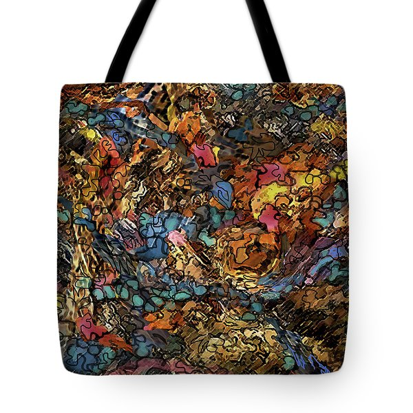 Volcanic Flow Tote Bag