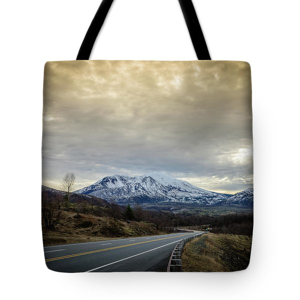 Volcanic Road Tote Bag