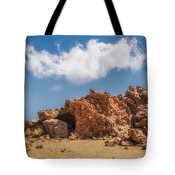Tote Bag featuring the photograph Volcanic Rocks by James Billings