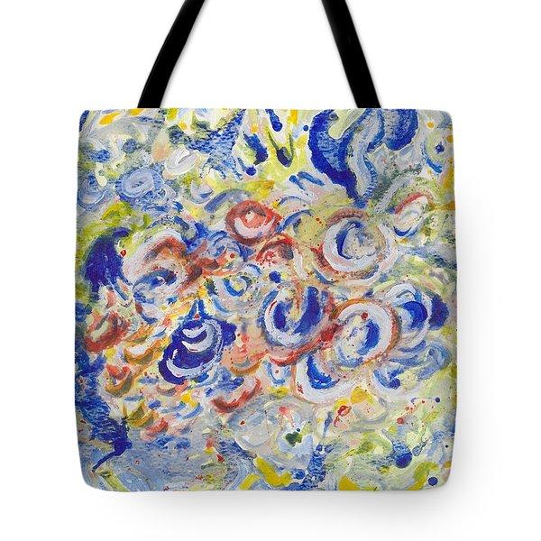 Volcanic Sea Acrylic/water Tote Bag