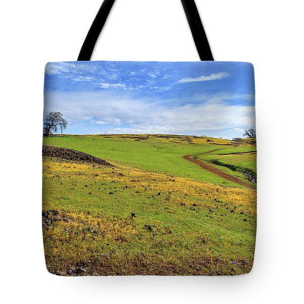 Tote Bag featuring the photograph Volcanic Spring by James Eddy