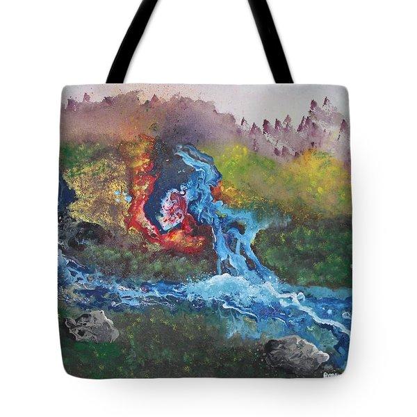Volcano Delta Tote Bag