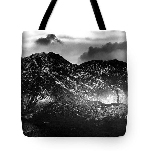 Tote Bag featuring the photograph Volcano by Hayato Matsumoto
