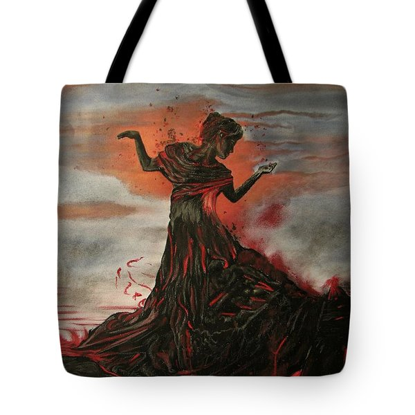Volcano Keeper Tote Bag
