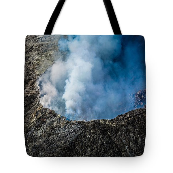 Another View Of The Kalauea Volcano Tote Bag