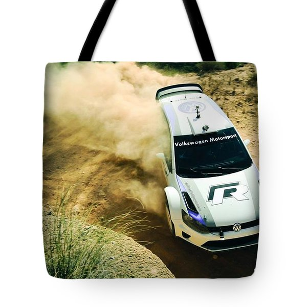 Volkswagen Polo Rally Tote Bag