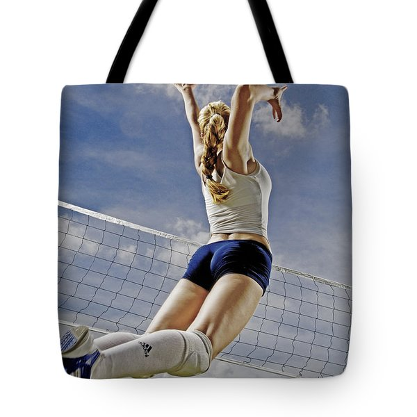 Volleyball Tote Bag by Steve Williams