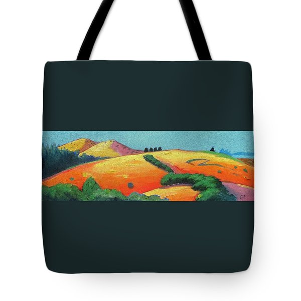 Voluptuous Windy Hill Tote Bag