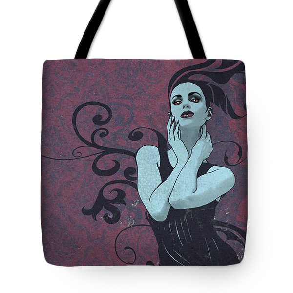 Voluted Tote Bag