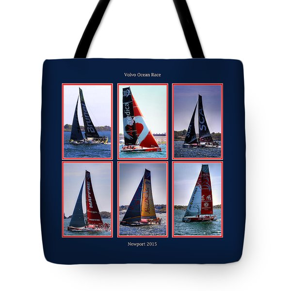 Volvo Ocean Race Newport 2015 Tote Bag