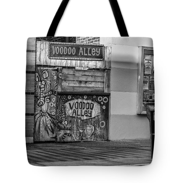 Voodoo Alley Tote Bag
