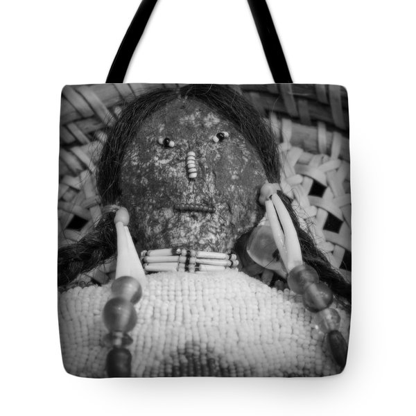 Tote Bag featuring the photograph Voodoo Girl by Lynn Sprowl
