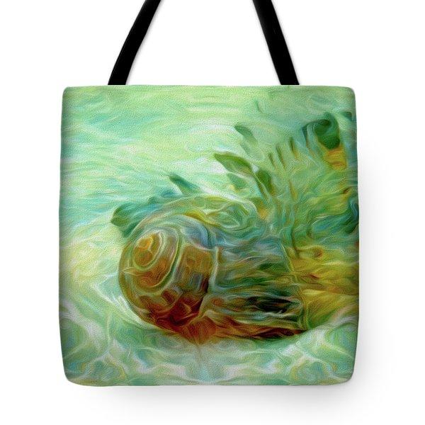 Tote Bag featuring the mixed media Vortex 8 by Lynda Lehmann
