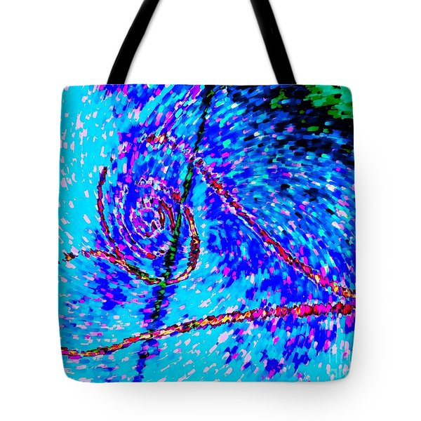 Vortex Heart Love Tote Bag