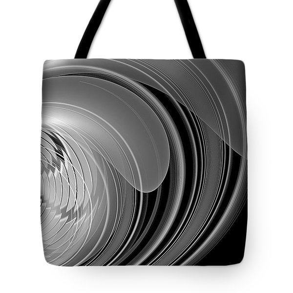 Tote Bag featuring the digital art Vortex by Linda Whiteside