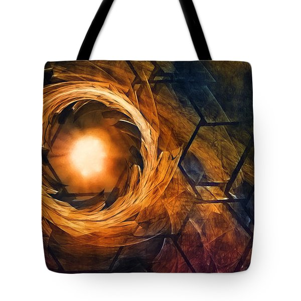 Vortex Of Fire Tote Bag