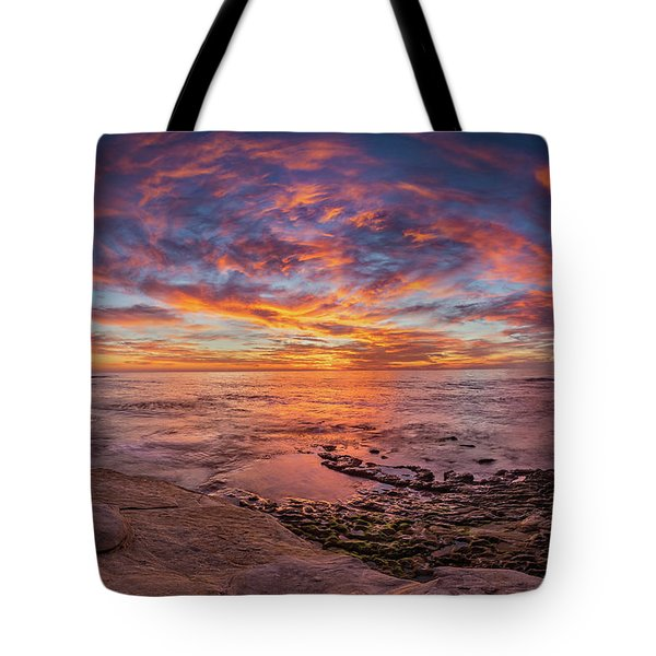 Vortex Tote Bag by Peter Tellone