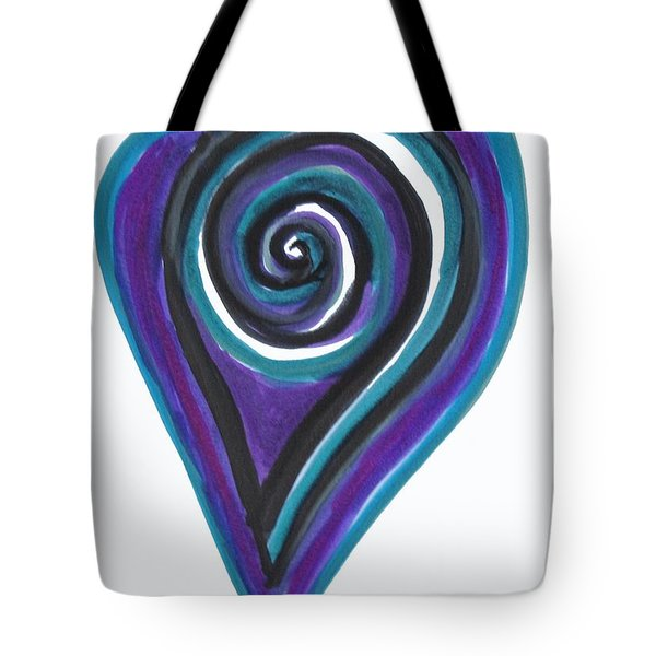 Vortex Wave Tote Bag
