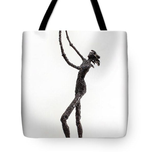 Votary Of The Rain A Sculpture By Adam Long Tote Bag by Adam Long