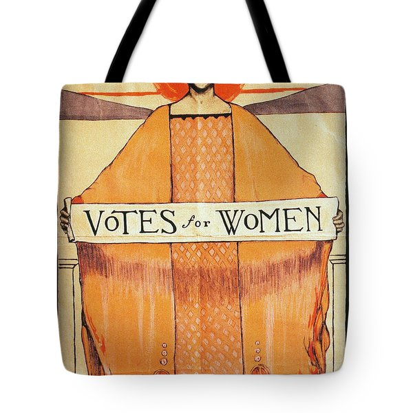 Votes For Women, 1911 Tote Bag by Granger