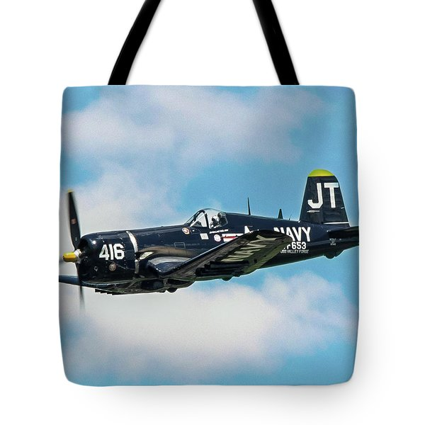 Vought F4u Corsair Tote Bag