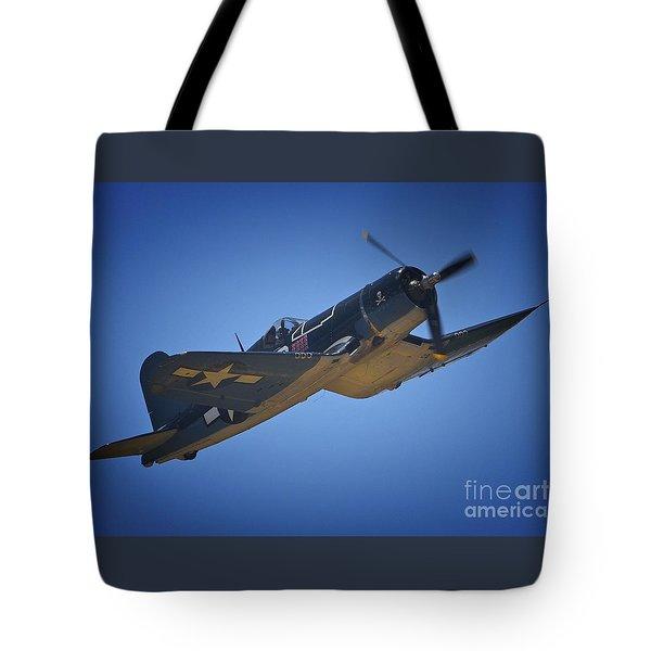 Vought F4u Corsair No. 29 To Angels Eleven Tote Bag