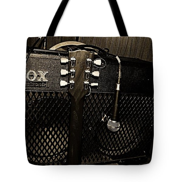 Vox Amp Tote Bag by Chris Berry