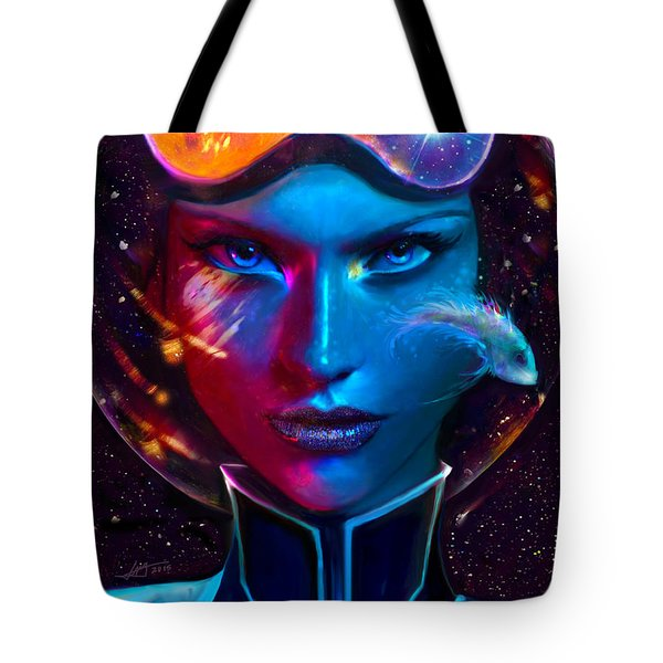 Voyager Beyond The Clouds Tote Bag