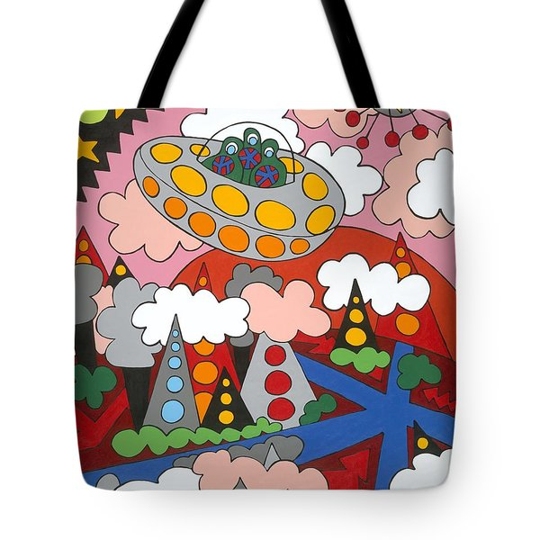 Voyager Tote Bag by Rojax Art