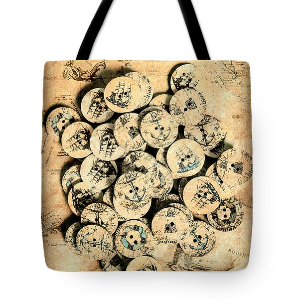 Voyages Of Old World Tote Bag