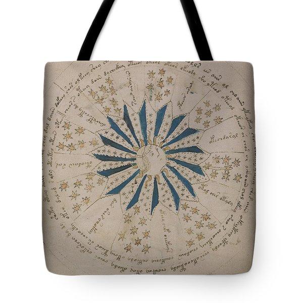 Voynich Manuscript Astro Rosette 1 Tote Bag