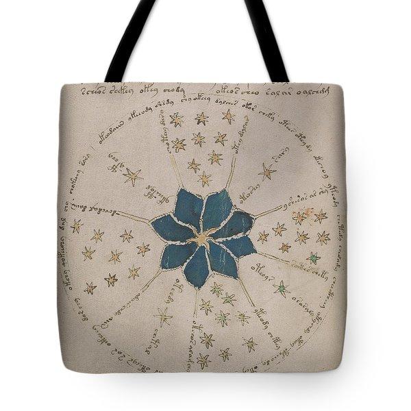Voynich Manuscript Astro Rosette 2 Tote Bag