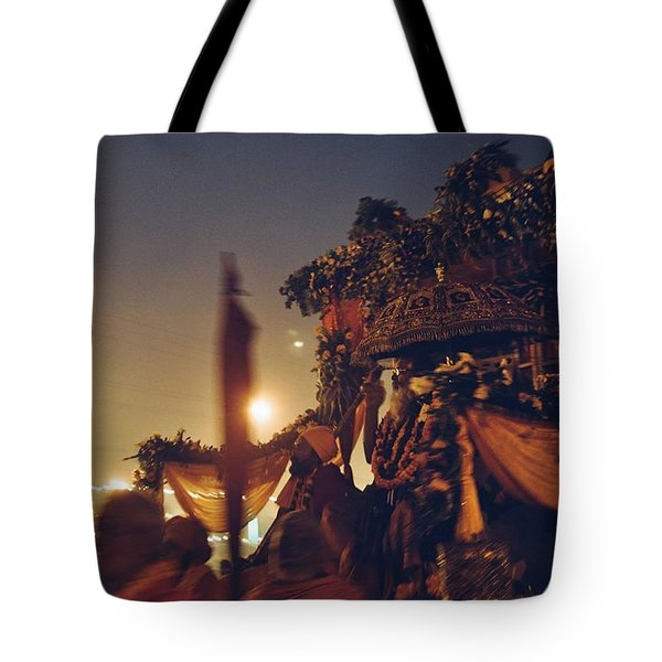 #vscocam #allahabad #prayag Tote Bag