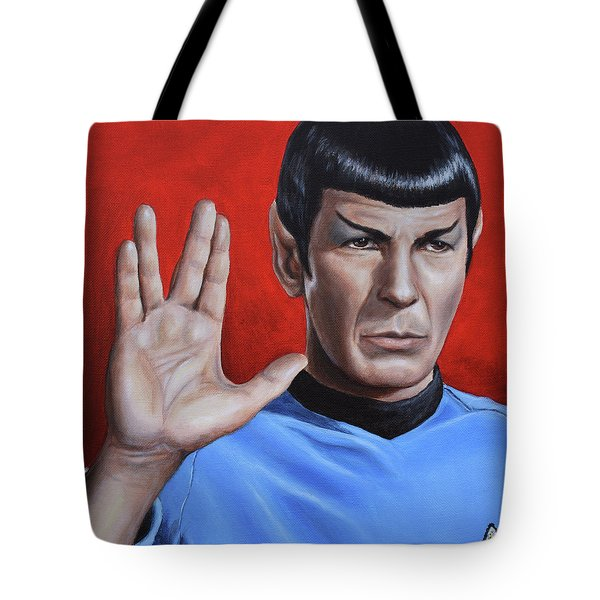 Vulcan Farewell Tote Bag