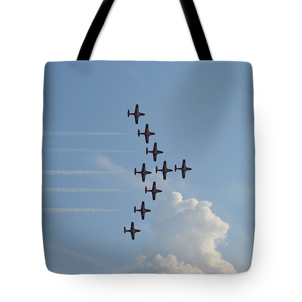 Vulcan Formation Tote Bag