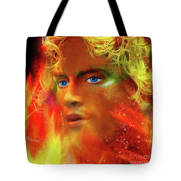 Tote Bag featuring the photograph Vulcan by LemonArt Photography