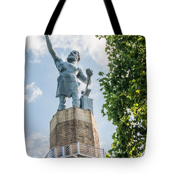 Vulcan On A Sunny Day Tote Bag by Parker Cunningham
