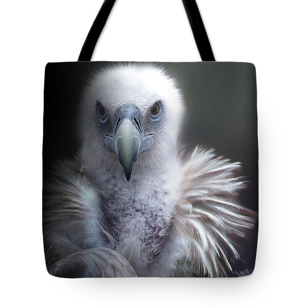 Tote Bag featuring the photograph Vulture 2 by Christine Sponchia