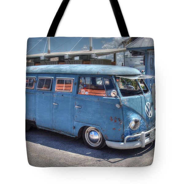 Tote Bag featuring the photograph Vw Beach Buggy by Michael Colgate