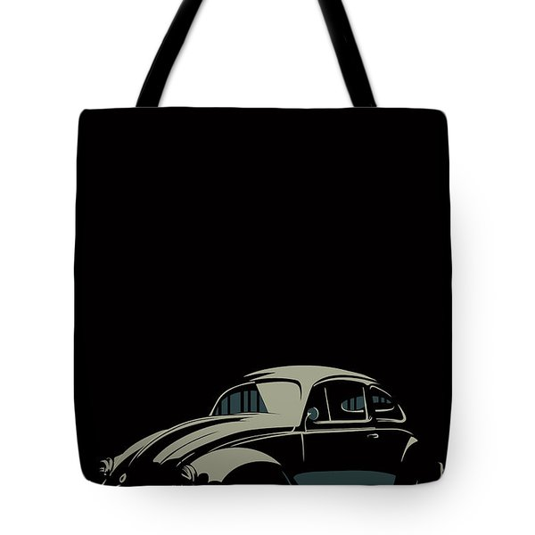Vw Beatle Tote Bag