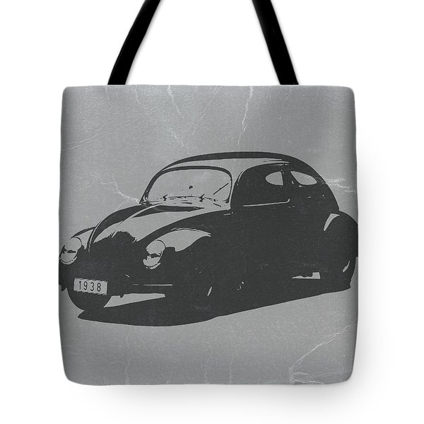 Vw Beetle Tote Bag by Naxart Studio